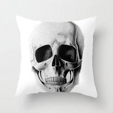 le crâne Throw Pillow