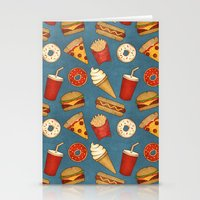 Fast Food Stationery Cards