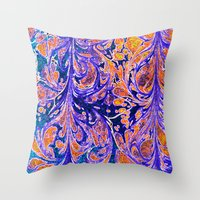 Dragon Root Throw Pillow