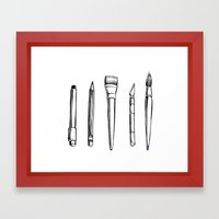 Tools Of The Trade Framed Art Print