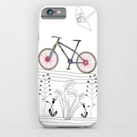 iPhone & iPod Case featuring Photo Bicycle by CarmanPetite