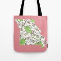 Missouri in Flowers Tote Bag
