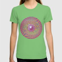 Gravity Well Womens Fitted Tee Grass SMALL
