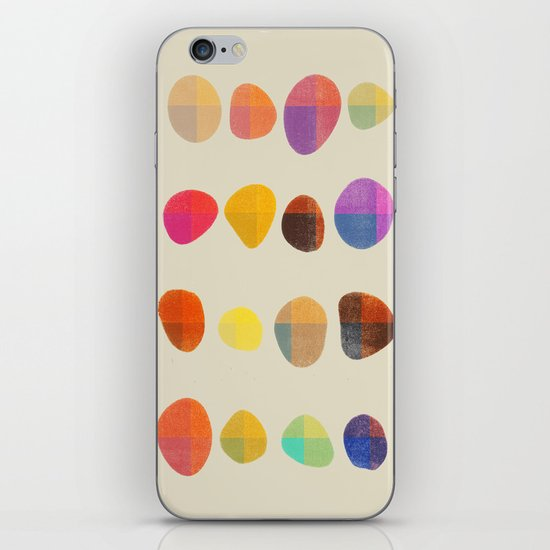 Painted Pebbles 4 iPhone & iPod Skin
