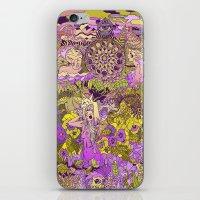 Garden Pansy iPhone & iPod Skin