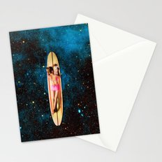 Pleiadian Surfer Stationery Cards