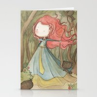 Merida In The Forest Stationery Cards