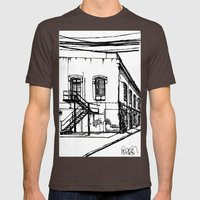 LX Factory 1 Mens Fitted Tee Brown SMALL