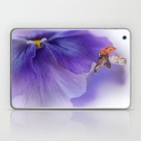 Ladybird On Violet Laptop & iPad Skin