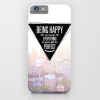 Being Happy iPhone 6 Slim Case