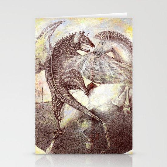 Fight. Stationery Card