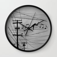 High Notes Wall Clock