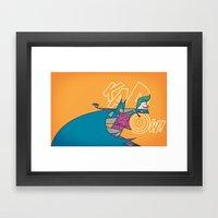 KAPOW! Framed Art Print