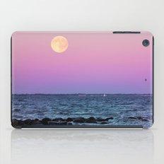 Full Moon on Blue Hour iPad Case