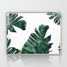 Banana Leaf Watercolor Pattern #society6 Laptop & iPad Skin