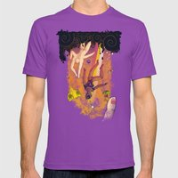 La Chute Vers Le Haut (T… Mens Fitted Tee Ultraviolet SMALL