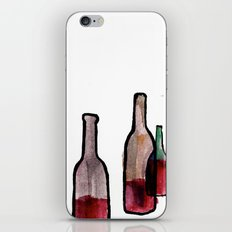 Wine Bottles 1 iPhone & iPod Skin