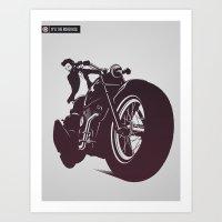 N°6 The RoadHog Art Print