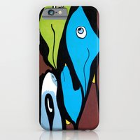 the SECRET MEETING of the ALTERED MINDS iPhone 6 Slim Case