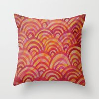 Throw Pillow featuring Warmth by Renee Trudell