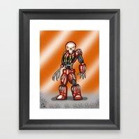 Robot Series - Outlaw Mo… Framed Art Print