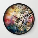 the Tree of Many Colors Wall Clock