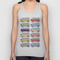 VW Van Parade Unisex Tank Top