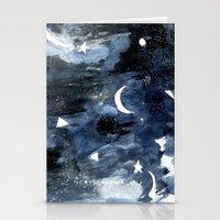 Twilight Night Sky Stationery Cards
