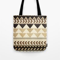 Woodwork Pattern Tote Bag