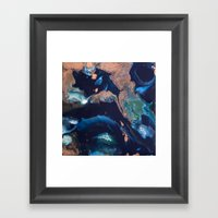 Color Commentary #14: Pa… Framed Art Print