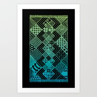 Carpet Ride Art Print