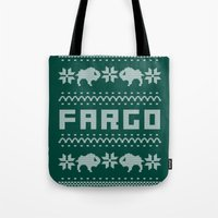 Fargo Sweater Tote Bag