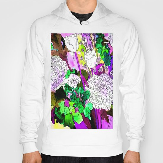 forest flowers 2 Hoody