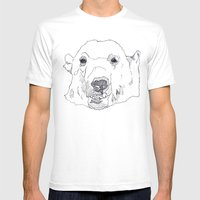 PolarBear- Mens Fitted Tee White SMALL