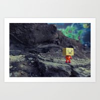 I Like It Here Art Print