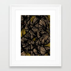 Thickeness Framed Art Print