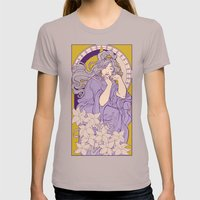 Chronos II Nouveau Womens Fitted Tee Cinder SMALL
