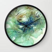 Comb Wall Clock