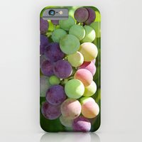 iPhone & iPod Case featuring Wine on the Vine by Joanna  Pickelsimer