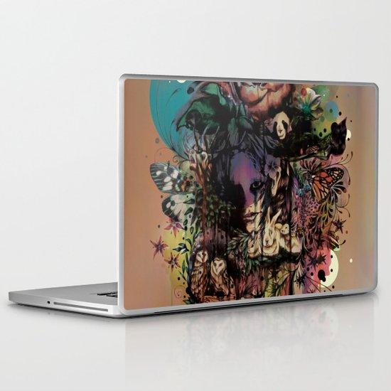Fauna and Flora Laptop & iPad Skin