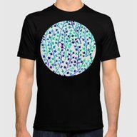 Turquoise Ivy Mens Fitted Tee Black SMALL