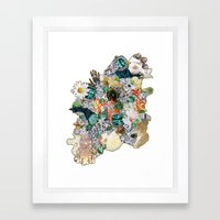 Glam Life Framed Art Print