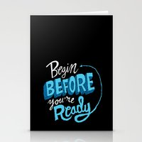 Begin Before You're Read… Stationery Cards