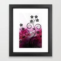 VECTOR PINK VECTOR PINK Framed Art Print