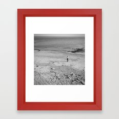 tell me no lies, make me a happy man... Framed Art Print