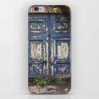 Paris Door at Jardin des Plantes iPhone & iPod Skin