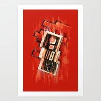 Blurry NES Art Print