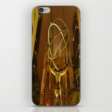 Atlas-Gold iPhone & iPod Skin