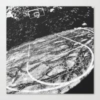 Basketball I Canvas Print