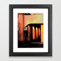 Olde Town Framed Art Print